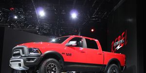 """""""Offering an off-road-style package on the Ram 1500 has been on our to-do list for some time, but the right combination didn't present itself until now,"""" said Bob Hegbloom, president and CEO of Ram."""