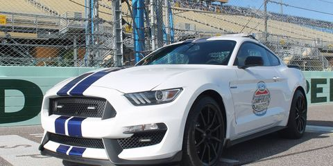 Joe Hinrichs, Ford Motor Co. executive vice president and president, the Americas, will drive the pace car at Homestead-Miami.