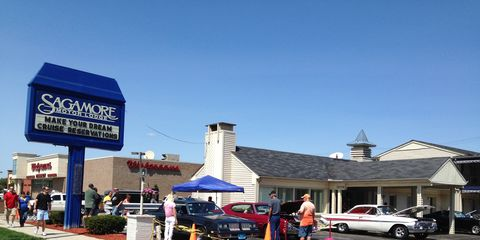 The Sagamore Motor Lodge is at the heart of the Woodward Dream Cruise
