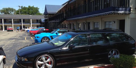 The Sagamore Motor Lodge hosts the same guests annually during the Woodward Dream Cruise