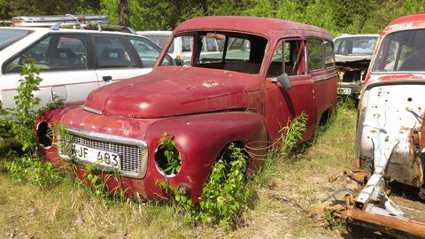 The Volvo Duett, a sedan delivery version of the Volvo PV444/PV544, didn't sell well in the United States but was very popular in its native land.