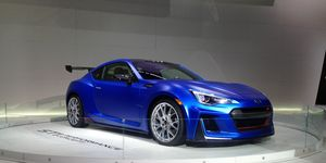 In Japan, buyers can already get a Forester tS and BRZ tS models, with STI tuning, along with the WRX STI.