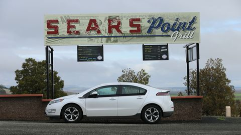 The Sears Point Grill up by the bleachers isn't open during 24 Hours of LeMons races.