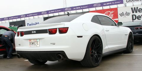 Bo White bought this 2010 Chevy Camaro with a supercharger already installed.