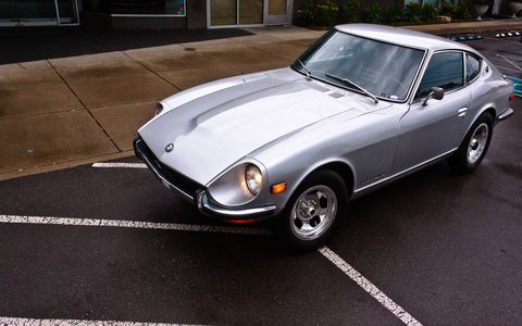 This 240Z comes by way of Nissan, one of the cars the company reconditioned in 1998 in anticipation of the 350Z.