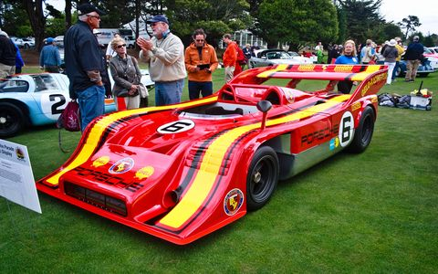 The 917/10 was Porsche's first attempt at Can-Am, in 1972. Regulations limiting engines to less than 3 liters made the 917 obsolete for the World Sportscar Championship.
