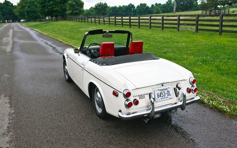 The 1600 Roadster sold for $2,465 when it debuted in December 1965, or around $17,000 today.