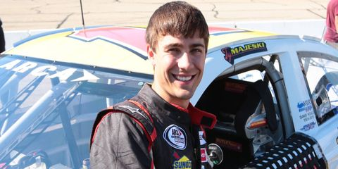 Ty Majeski finished fourth in his first ARCA race last month at Madison International Speedway in Oregon, Wisconsin.
