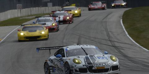 IMSA GTD class tightening with only three races left