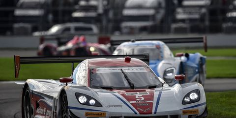 The 2015 IMSA Tudor United SportsCar Championship schedule begins with the Rolex 24 at Daytona International Speedway on Jan.24 and wraps up at Road Atlanta for Petit LeMans on Aug. 9.