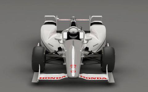 Honda's 2015 Indycar super speedway aero kit.