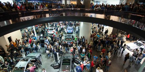 In 2015, the 11-day Frankfurt show attracted 931,700 visitors.