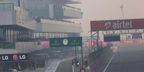 The Indian Grand Prix was held at Buddh International Circuit from 2011 through 2013.