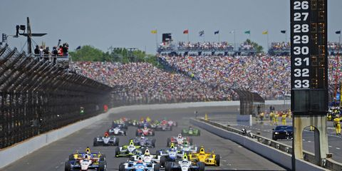 Indianapolis Motor Speedway -- shown here during 2014 running of the Indy 500 -- is trying to attract more fans.