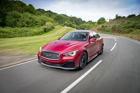 Expect about 300 Eau Rouges a year, Infiniti hints.