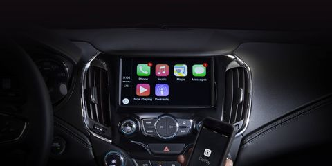 Chevrolet is only offering Android Auto and Apple CarPlay joint compatibility on models with the 7-inch MyLink system
