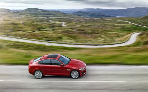 Jaguar XE will come to Europe this summer and to the U.S. after that.