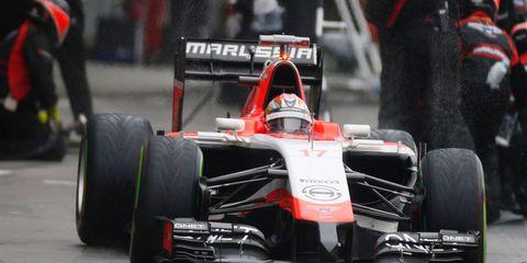 Jules Bianchi's F1 car
