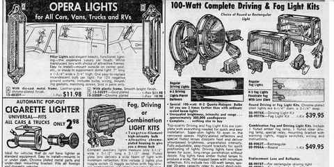 After gauges, there were wild off-road lights that I needed for my Beetle.