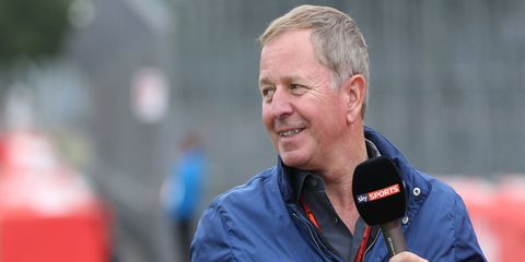 Martin Brundle drove in Formula 1 from 1984-96.