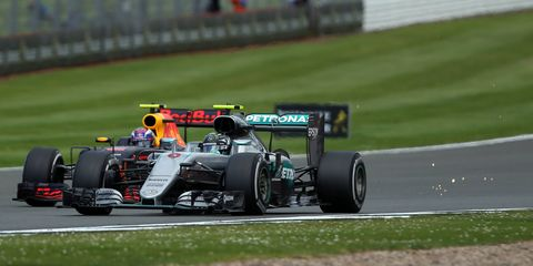 The controversial radio ban is under fire again after Nico Rosberg was penalized during Sunday's Formula 1 race.