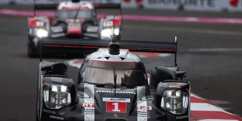 Porsche races to the win at Mexico City on Saturday.