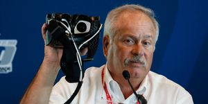 IndyCar Safety Consultant Dr. Terry Trammell unveiled the new I-PAS concussion detection system on Thursday at Indianapolis.