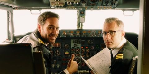Jimmie Johnson is a pilot now? Who knew?