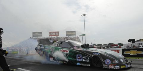 John Force begins the quest for his 17th NHRA Funny Car championship on Sunday at Charlotte, N.C.