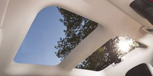 The Jeep Renegade's My Sky roof is rumored to be similar to what's coming on the Ford Bronco. It can be retracted or removed completely for open-air driving, and the panels can then be stored in the rear cargo area.