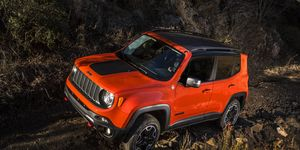 Jeep Renegade is at home on- or off-road.