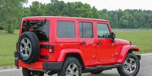 A victim of the hacker jackings submitted footage of their Jeep Wrangler Unlimited being stolen from their driveway to the Houston Police Department. The video led to the arrest of two individuals.