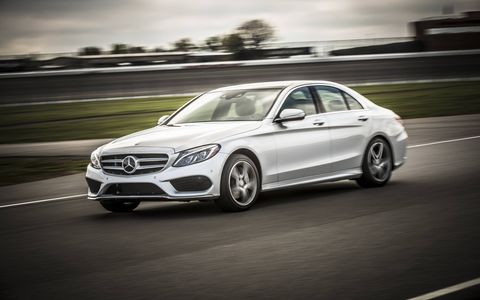 The 2015 Mercedes-Benz C400 4Matic Sedan is extremely well bolted-together.