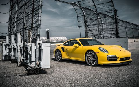 The 2014 Porsche Carrera 911 Turbo S is blindingly quick.