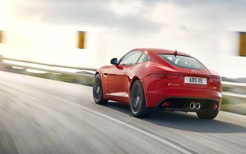 The 2015 Jaguar F-Type S Coupe costs $77,925.