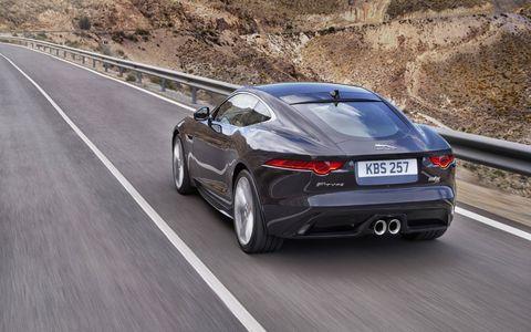 2016 Jaguar F-Type S Coupe Manual