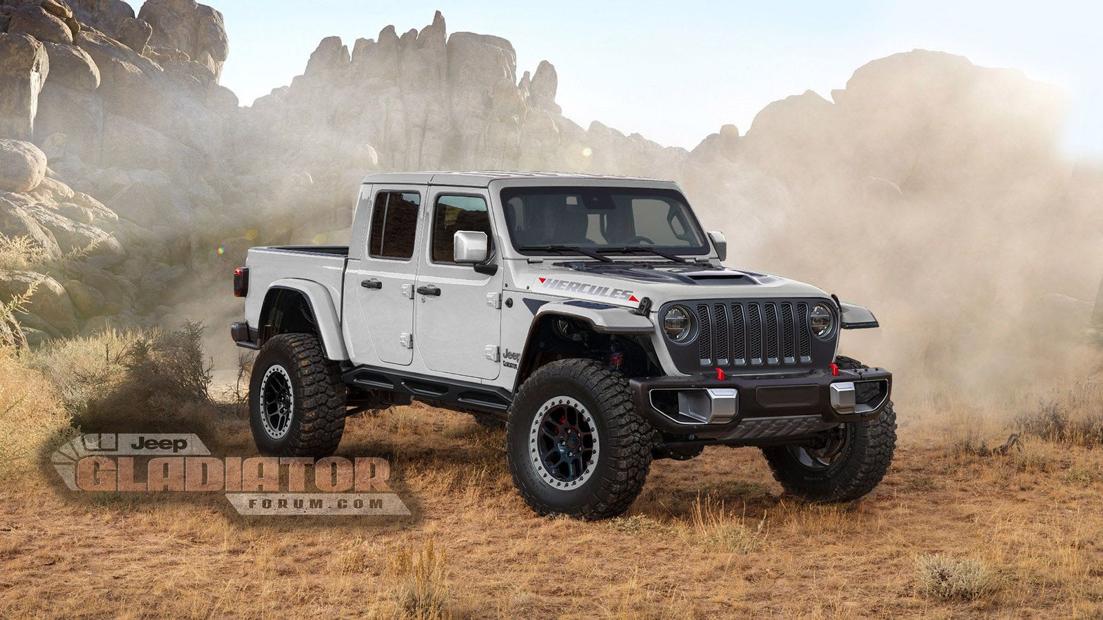Is Jeep Building A Raptor Fighting Gladiator Pickup