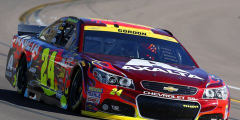 Jeff Gordon is third all-time in NASCAR Cup Series victories.