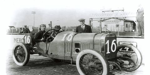 Jules Goux won the 1913 Indy 500 while drinking champagne at every pit stop.