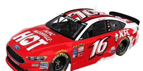 Greg Biffle will drive a KFC-sponsored Ford Fusion for the Daytona 500.