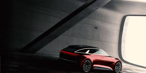 This concept teaser shows that Kia can build a good-looking concept, too.