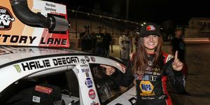 """""""Oh my god,"""" Deegan said in victory lane. """"This has to be the best day of my life right here."""""""
