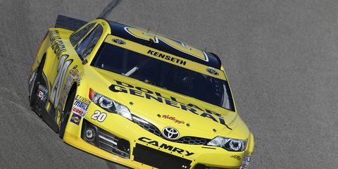 Matt Kenseth will start Sunday's 500-mile race at Texas Motor Speedway from the pole.