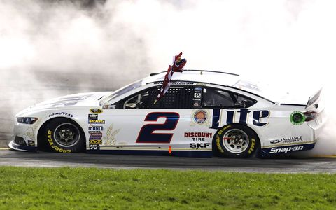 Brad Keselowski's fourth win of the NASCAR Sprint Cup Series season makes him the No. 1 seed in the Chase.
