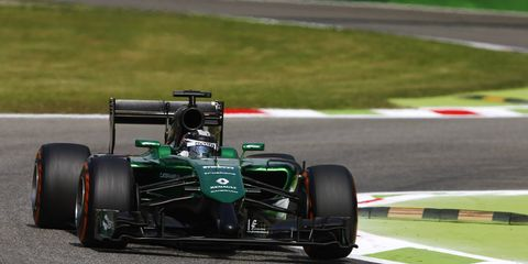 Kamui Kobayashi is not expected in the Caterham seat for the Formula One Russian Grand Prix at Sochi on Oct. 12.
