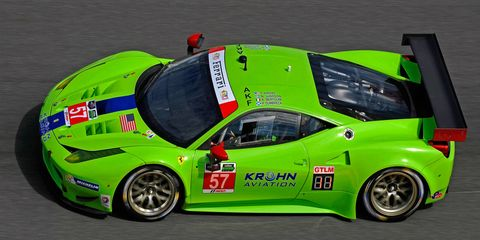 Krohn Racing finished seventh in the GTLM class and 37th overall at Daytona a year ago with drivers Tracy Krohn, Nic Jonsson, Andrea Bertolini and Peter Drumbeck.