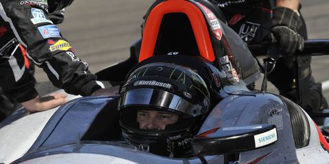Kurt Busch came in sixth place at the 2014 Indy 500.