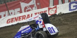 Kyle Larson said a schedule conflict is the reason he withdrew from the midget race at the Indianapolis Motor Speedway dirt track.