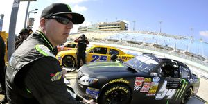 Kyle Busch says that he has not spoken to his older brother Kyle about Kyle's recent court hearing in Delaware.