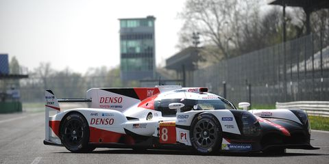 Mike Conway set the fastest time for Toyota Gazoo Racing in the afternoon session, as both TS050 HYBRIDs beat the time set earlier in the day by Porsche's Neel Jani.